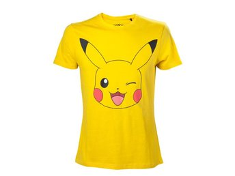 Pokemon - Pikachu print yellow (XL)