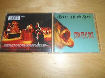 IRON MAIDEN - BRUCE DICKINSON - CD - Scream for me Brazil