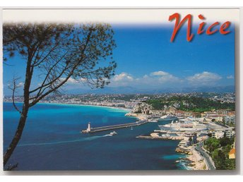NICE FRANCE FRENCH RIVIERA POSTCARD VKORT