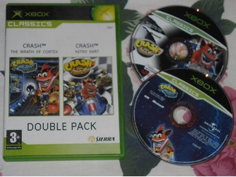 Xbox: Crash Double Pack - Wrath of Cortex + Nitro Kart