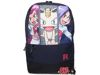 Pokemon Team Rocket Backpack Svart