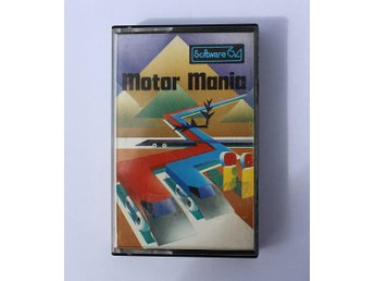 Motor Mania - Commodore 64 (C64)