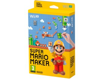 Super Mario Maker with Artbook - WiiU