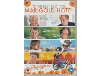 Hotell Marigold - The Best Exotic Marigold Hotel (Judi Dench) 2011 - DVD NY