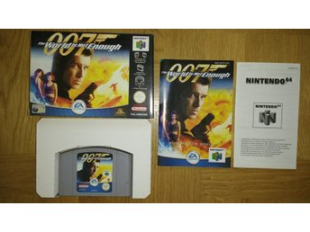 Nintendo 64: James Bond 007 The World is Not Enough