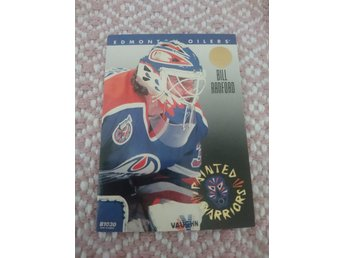 Leaf 1993/94 Painted Warriors insert - Bill Ranford