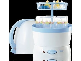 NUK Vapo 2 in 1 Steam Steriliser banr