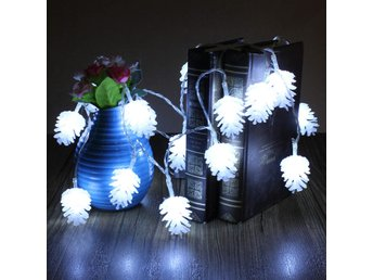2.2m 20 LED Pine Cone String Light Lamp Christmas Wedding...