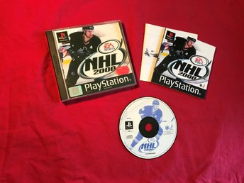 NHL 2000 PS1 PLAYSTATION 1 PSONE SVENSK TEXT I SPELET