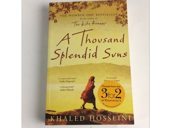 Bok, A Thousand Splendid Suns, Khaled Hosseini, Pocket, ISBN: 9780747582977