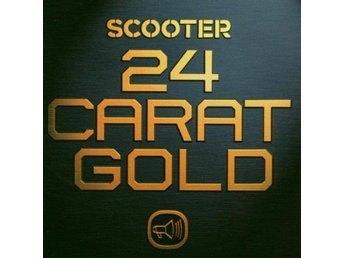 Scooter 24 CARAT GOLD Greatest Hits CD inkl 24 låtar