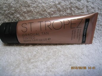 st tropez body lotion helt ny
