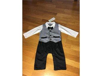 Stilig pojkdräkt, finkläder strl 80 - ånge - Stilig pojkdräkt, finkläder strl 80 - ånge