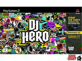 DJ Hero (inkl. Turntable)