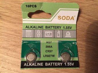 Batteri 1,55V - AG7 - 395A - CX57 - LR927W - Malmö - Batteri 1,55V - AG7 - 395A - CX57 - LR927W - Malmö