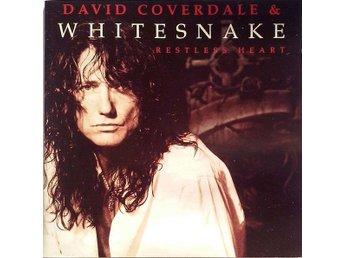 David Coverdale & Whitesnake - Restless Heart (1997) CD, EMI, Like New - Ekerö - David Coverdale & Whitesnake - Restless Heart (1997) CD, EMI, Like New - Ekerö