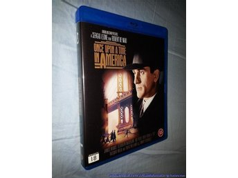 Once Upon a Time in America (Blu-ray! Svensk) Sergio Leone, Robert Niro J Woods