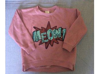 Sweatshirt rosa med paljetter zara kids strl 116 - Stockholm - Sweatshirt rosa med paljetter zara kids strl 116 - Stockholm