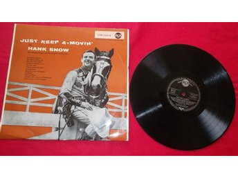 "Hank Snow ""Just keep a-movin"" LP"