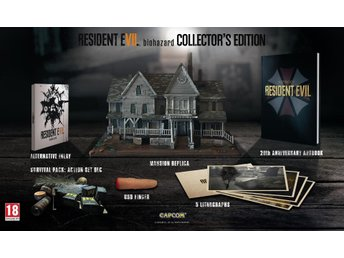 RESIDENT EVIL 7 BIOHAZARD VII COLLECTOR'S EDITION PS4/Xbox One/PC Ny/inplastad - Stockholm - RESIDENT EVIL 7 BIOHAZARD VII COLLECTOR'S EDITION PS4/Xbox One/PC Ny/inplastad - Stockholm