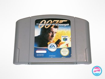 James Bond 007 - The World Is Not Enough (Nintendo 64)