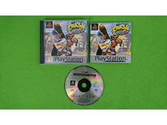 Crash Bandicoot 3 Warped KOMPLETT PSone ps1