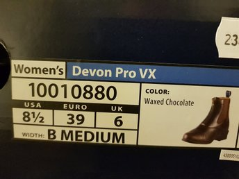 Women Devon Pro VX 39 WAXED CHOCOLATE