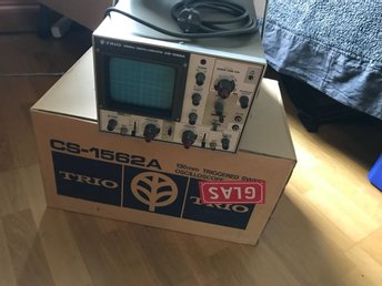 TRIO CS-1562A 10Mhz 130mm triggered sweep oscilloscope oscilloskop