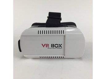 VR BOX, Virtual Reality Video Eyewear, Vit/Svart