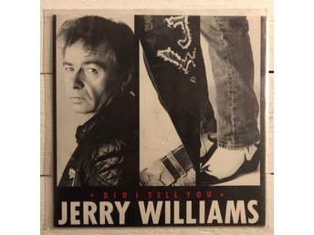 LP singel Jerry Williams Did I Tell you vinyl
