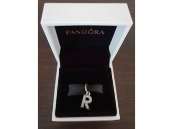 "Pandora ""R"" bokstav NY charm dangle"