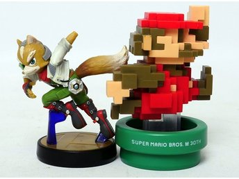 Amiibo's Fox & Super mario bros 30th anniversary