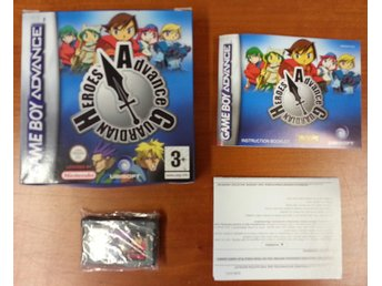Advance Guardian Heroes (Fint skick) - Gameboy Advance