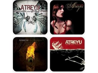 ATREYU COASTERS - Set of 4