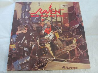 "RAVEN ""ROCK UNTIL YOU DROP"" LP metal nwobhm hårdrock"