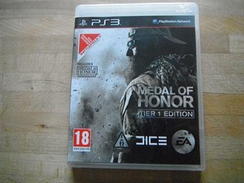 Medal of honor, tier 1 edition, PS3