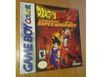 Gameboy Color GBC - Draonball Z Legendary Super Warriors original inplastad