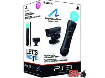 Sony Playstation Move Friendly Pack (Kamera & Move kontroll)