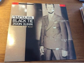 David Bowie Black tie white noise 12""