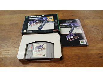 1080 TEN EIGHTY SNOWBOARDING KOMPLETT N64