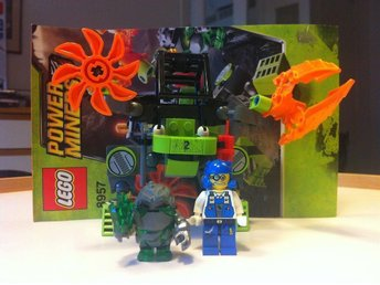 LEGO POWER MINERS 8957 MINE MECH -KOMPLETT-