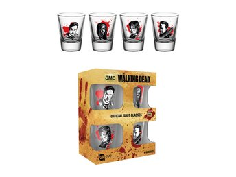 Shotglas (4st) - The Walking Dead Characters New