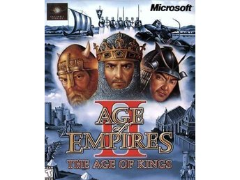 AGE OF EMPIRES II THE AGE OF KINGS PC SPEL - Göteborg - AGE OF EMPIRES II THE AGE OF KINGS PC SPEL - Göteborg