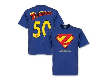 Sverige T-shirt Zlatan Superman XL