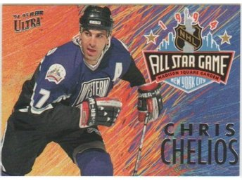 ULTRA 94-95 All Star Game # 08 CHELIOS Chris