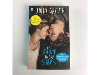 Bok, John Green, The fault in our stars , Flerfärgad