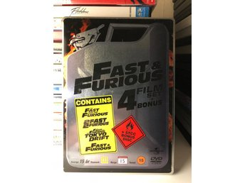 Fast and the Furious 1-4 SteelBook