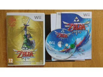 Nintendo Wii: Zelda: Skyward Sword (kräver motion plus)