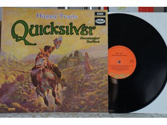 Quicksilver Messenger Service ‎– Happy Trails UK UNKNOWN PRESS RED LABELS
