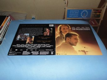 The English patient - THX AC-3 - Widescreen Laserdisc - 2st Laserdisc